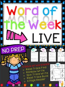 WORD OF THE WEEK - LIVE