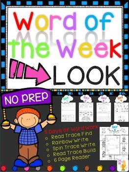 WORD OF THE WEEK - LOOK