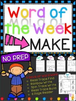 WORD OF THE WEEK - MAKE