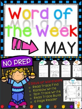 WORD OF THE WEEK - MAY