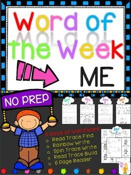 WORD OF THE WEEK - ME