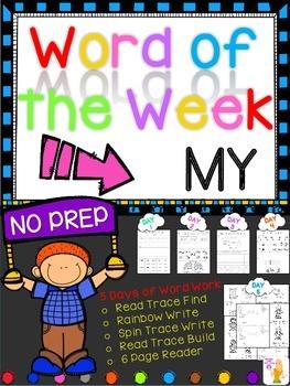 WORD OF THE WEEK - MY