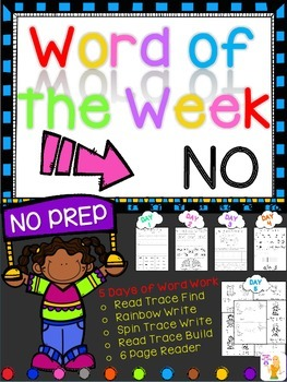 WORD OF THE WEEK - NO