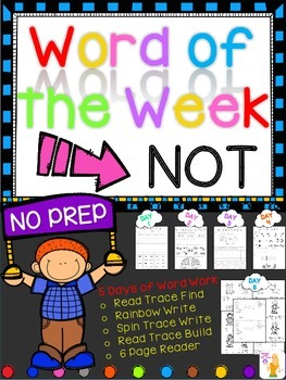 WORD OF THE WEEK - NOT