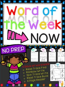 WORD OF THE WEEK - NOW