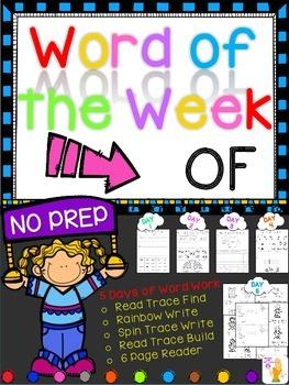 WORD OF THE WEEK - OF