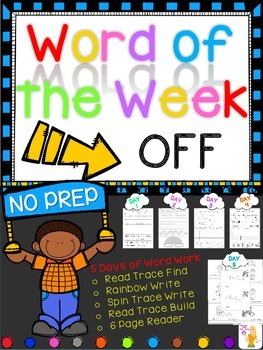 WORD OF THE WEEK - OFF