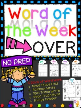WORD OF THE WEEK - OVER