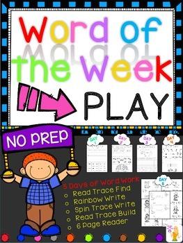 WORD OF THE WEEK - PLAY