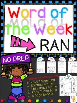 WORD OF THE WEEK - RAN