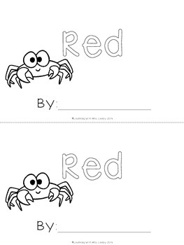 WORD OF THE WEEK - RED
