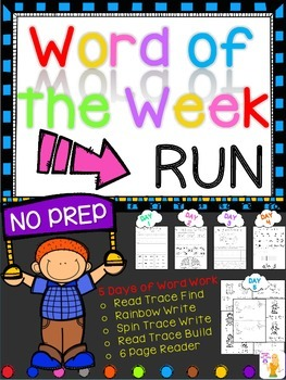 WORD OF THE WEEK - RUN