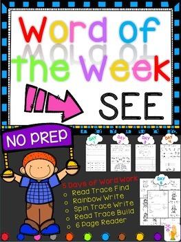 WORD OF THE WEEK - SEE