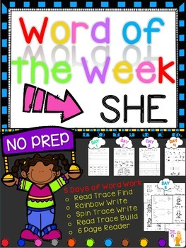 WORD OF THE WEEK - SHE