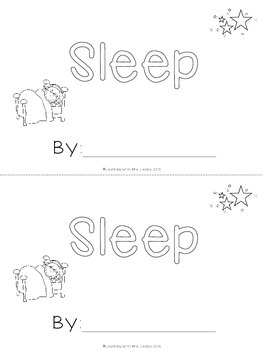 WORD OF THE WEEK - SLEEP