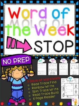 WORD OF THE WEEK - STOP