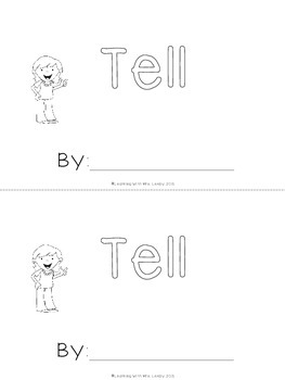 WORD OF THE WEEK - TELL