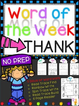 WORD OF THE WEEK - THANK