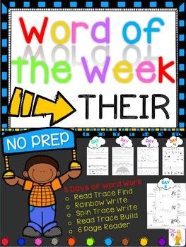 WORD OF THE WEEK - THEIR