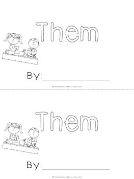 WORD OF THE WEEK - THEM