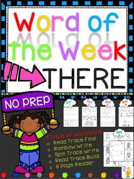 WORD OF THE WEEK - THERE