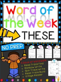 WORD OF THE WEEK - THESE