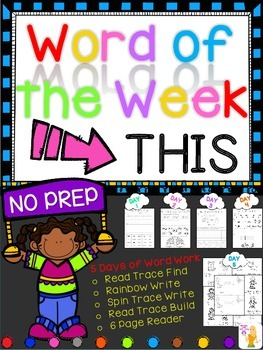WORD OF THE WEEK - THIS