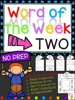 WORD OF THE WEEK - TWO