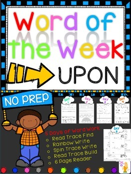 WORD OF THE WEEK - UPON