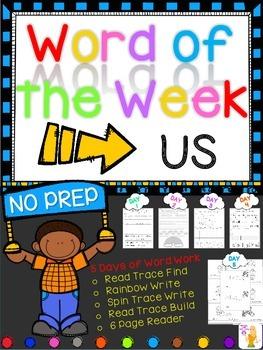 WORD OF THE WEEK - US