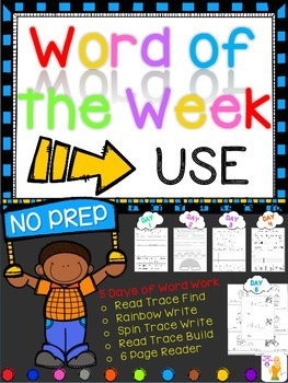 WORD OF THE WEEK - USE