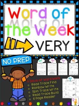 WORD OF THE WEEK - VERY