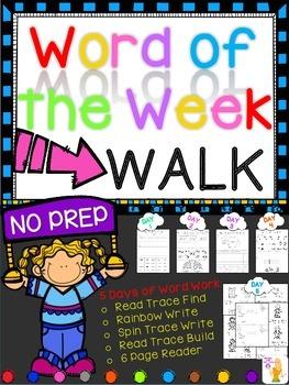 WORD OF THE WEEK - WALK