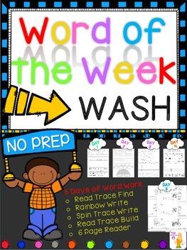 WORD OF THE WEEK - WASH