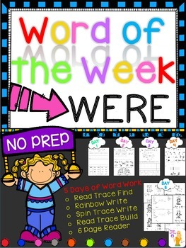 WORD OF THE WEEK - WERE
