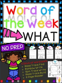 WORD OF THE WEEK - WHAT