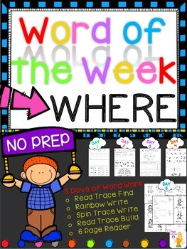 WORD OF THE WEEK - WHERE