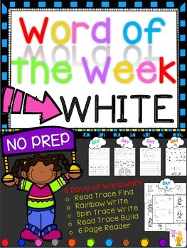WORD OF THE WEEK - WHITE