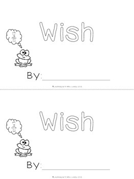 WORD OF THE WEEK - WISH