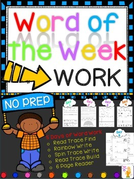 WORD OF THE WEEK - WORK