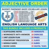 WORD ORDER OF ADJECTIVES: BUNDLE