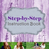 MICROSOFT WORD & POWERPOINT - Step by Step Instruction Book Project