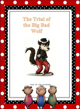"""WORD 2016 PROJECT – CREATING A 4"""" X 5 ½"""" BOOKLET/THE TRIAL OF THE BIG BAD WOLF"""