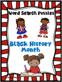 WORD SEARCH PUZZLES Black History Month