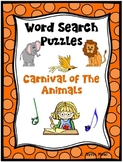 WORD SEARCH PUZZLES Carnival of the Animals
