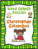 WORD SEARCH PUZZLES Christopher Columbus