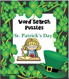 WORD SEARCH PUZZLES St. Patrick's Day