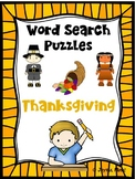 WORD SEARCH PUZZLES Thanksgiving