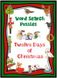 WORD SEARCH PUZZLES Twelve Days of Christmas