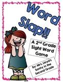 WORD SLAP!!  A Grade 2 Sight Word Game
